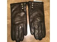 Aspinall of London Leather Gloves
