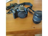 Canon EPS 450D SLR with ef-s 18-55mm lens