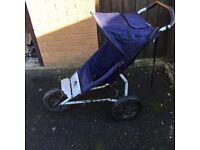 Mountain Buggy Terrain 3 wheeled pushchair