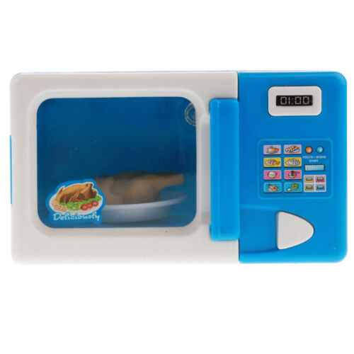 Home Mini Appliances Toys for Kids Girls Pretend Play - Blue