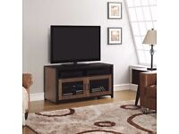 Bell'O AIM Wood and Glass TV Cabinet for TVs up to 50″ - new in sealed box