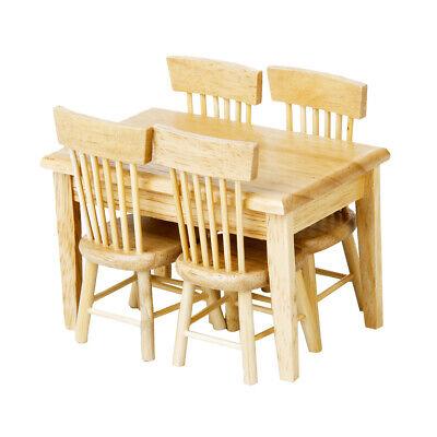 1/12 Dollhouse Dining Room Decor Mini Tableware Set and Kitchen Furniture