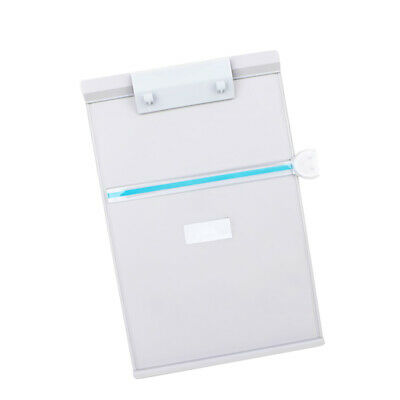 Desktop Document Holder Computer Typing Stand With Line Guide Clip White