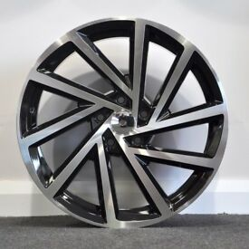 "19"" 2017 Golf R Style Alloy Wheels.Suit Audi A3,VW Caddy,Golf,Jetta, Passat,Seat Leon 5x112"