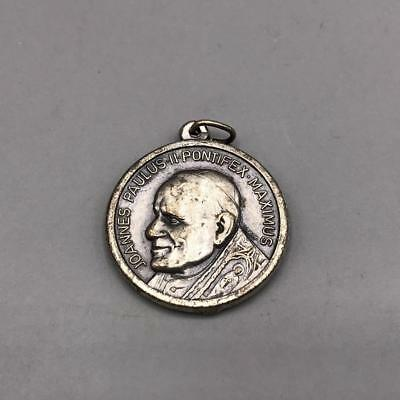 Religious Joannes Paulus Regina Poloniae Medallion Pendant
