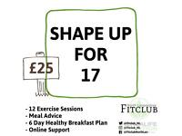 Challenge yourself to get healthy with fitclub lanarkshire