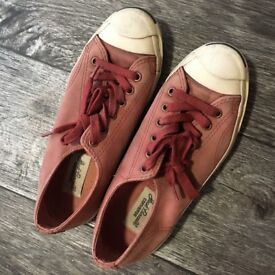 Converse Jack Purcell Red unisex shoes UK5.5