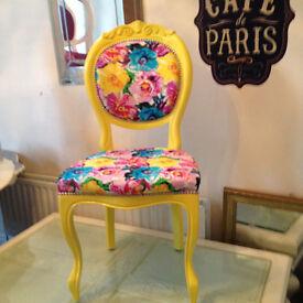 Funky italian style chair.