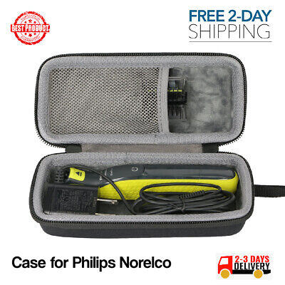 Case MicroTouch Philips Norelco Rechargeable Trims Edges SMART Razor Shaver-New