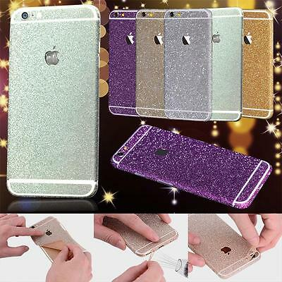 Full Body Glitter Bling Sticker Protector Case Cover Skin for iPhone 7 & Samsung Skins Full Body Protector