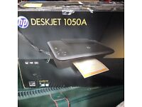 HP Deskjet 1050A 3 functional colour printer, used 6 months, Excellent condition.