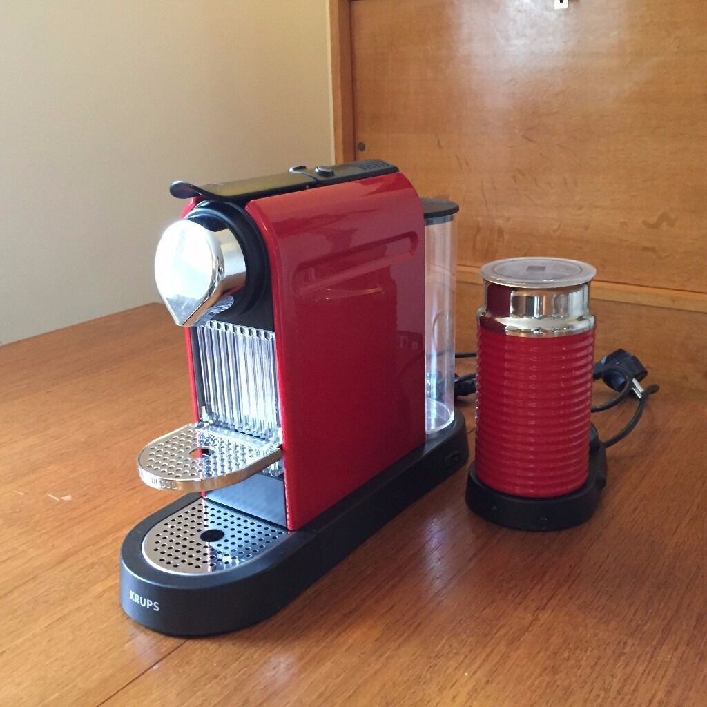 Nespresso Citiz Pod Coffee machine Titanium version with ...