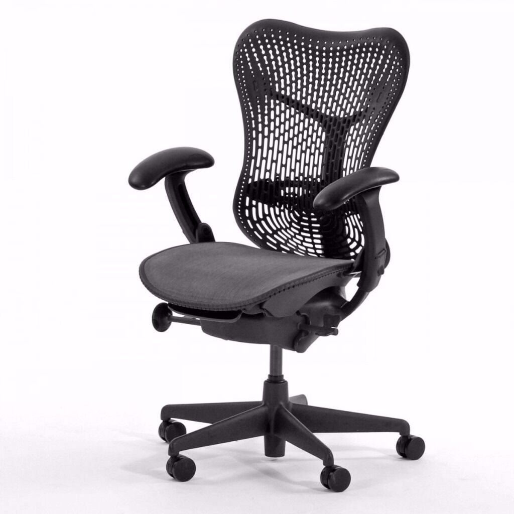 herman miller mirra task chairs  high quality executive mesh  - herman miller mirra task chairs  high quality executive mesh ergonomicorthopedic office seating