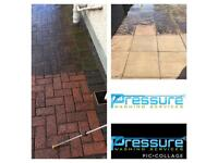 Pressure washing services driveway, patio, decking roof & gutter cleaning