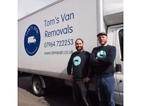 Tom's Van. Your Reliable, Friendly man and van service.