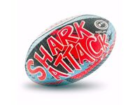 Optimum Shark Attack Rugby Ball Size 3......................Brand New