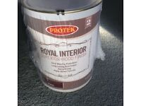 Protek Royal interior finish - Oak
