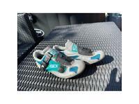 Sidi Techno child's cycling shoe.