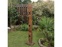 Tribal art garden or home feature