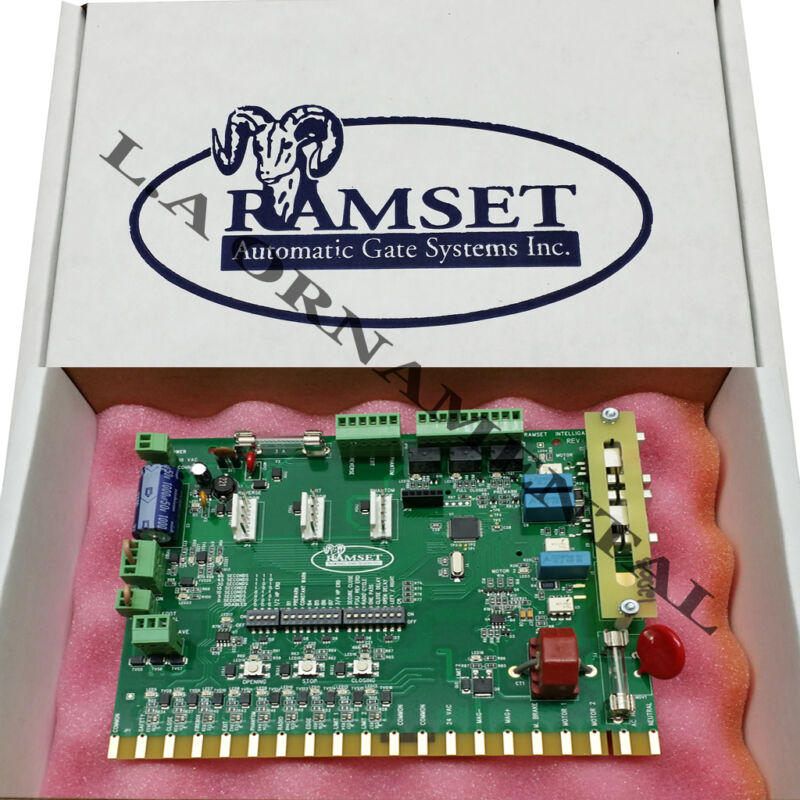 Ramset Intelligate 20 Pin Circuit Board Ram Automatic Gate Opener Control Board