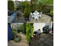 Freehold , South facing , 3 bedroom , Mid Terrace , off street parking , 60sqm garden, solar panels.