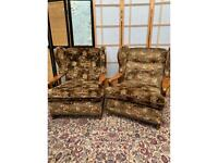 Two Armchairs Each £45