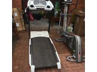 Two top grade Fitness Machines Tread mill and Cross-trainer