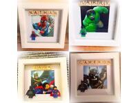 Brick Box Designs Personalised Frames