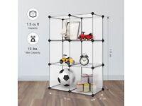 Interlocking Plastic Wardrobe Cabinet