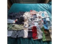 3-6 mth Large boys bundle of clothes 35 items