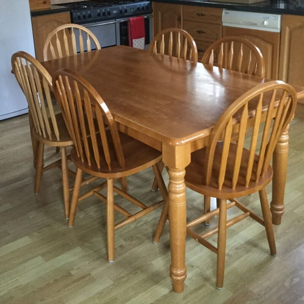 country style kitchen table set