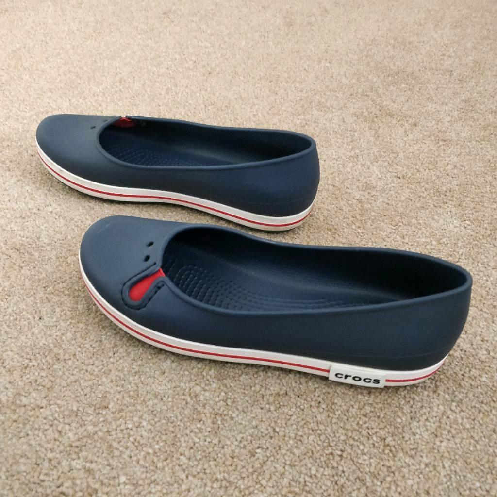 Bridal Shoes Yorkshire: Crocs, Super Comfy, Perfect Condition Size 6