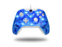 LED Afterglow Dual Vibration Wired Gamepad Controller for Microsoft Xbox One / PC