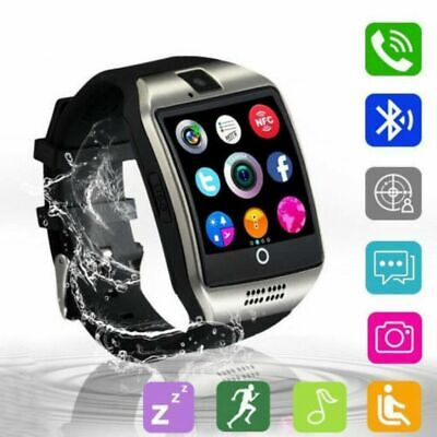 2020 Q18 GT08 Bluetooth Smart Watch For Android iOS iPhone Apple GSM GPRS SIM UK