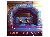 ** 'Party Time' Themed Bouncy Castle for Hire **