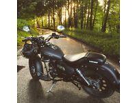 Keeway Superlight 125 motorcycle - 2015 reg - CBT - free service!