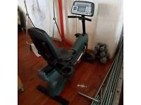 LifeFitness recumbent exercise bike
