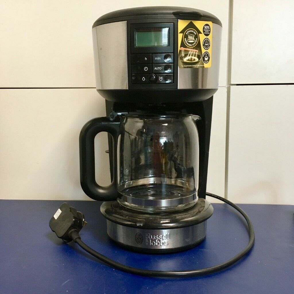 Russell Hobbs Buckingham Filter Coffee Maker Brushed Stainless Steel Coffee Machine 10 In Shepherds Bush London Gumtree