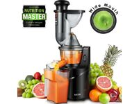 Aicok Cold Press Slow Juicer with 75MM Big Mouth for Whole Fruit and Vegetable