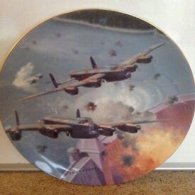 Dambusters Commemorative Plate - Coalport limited edition
