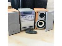 Panasonic Stereo + speakers