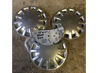 "Set of 3(!) not 4 - 15"" Ford Van/Camper wheel hubs"