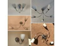 Wall & Ceiling Lights (£5 per item)