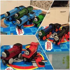 Genuine Thomas wooden railway - trains (prices in description)