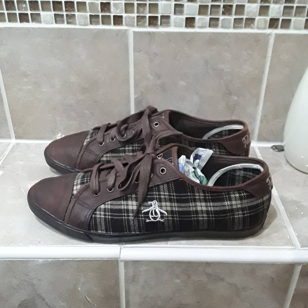 Penguin trainers size 10