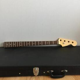Vintage Finished Jazz Bass Guitar Neck By Allparts