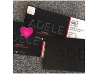 2x seated Adele concert tickets Sat 1 July