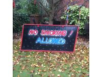 Vintage Original Fairground Sign from the 1960/70's & 6' x 3'