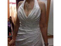 Wedding Dress Ivory size 14 Brand New Rosetta Nicolini Unworn unaltered reatail £1300