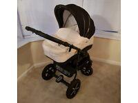 Baby pram pushchair stroller system 3 in 1